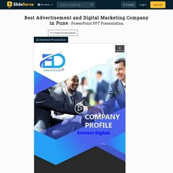 Best Advertisement and Digital Marketing Company in Pune - Eminent Digitals