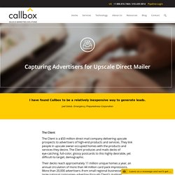 Capturing Advertisers for Upscale Direct Mailer - B2B Lead Generation Company Malaysia