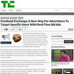 Facebook Exchange: A New Way For Advertisers To Target Specific Users With Real-Time Bid Ads