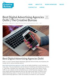 Best Digital Advertising Agencies in Delhi - The Creative Bureau
