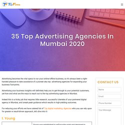 35 Top Advertising Agencies in Mumbai 2020