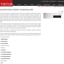 Advertising Agency in Bangalore – Vistas AD Media