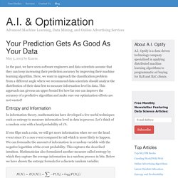 Data Science, Machine Learning, Data Mining, Online Advertising Algorithms