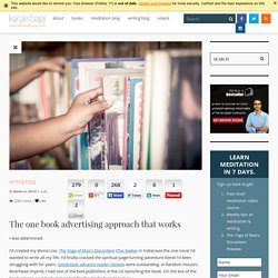 The one book advertising approach that works