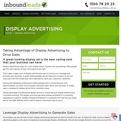 Display Advertising Services Australia