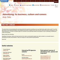 Advertising: Its business culture and careers - Chapter 9