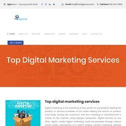 Top digital marketing agency.