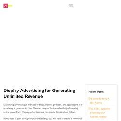 Display Advertising Company in Chandigarh - SEO Innovators