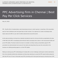 PPC Advertising Firm in Chennai
