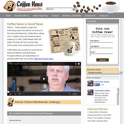 Advertising In Edmonton And Local Communities | Coffee News