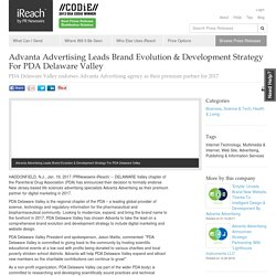 Advanta Advertising Leads Brand Evolution & Development Strategy For PDA Delaware Valley