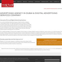 Advertising Agency in Dubai - Digital Services Company
