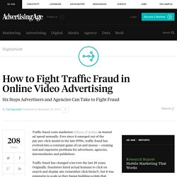 How to Fight Traffic Fraud in Online Video Advertising
