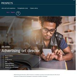 Advertising art director job profile