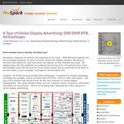 A Tour of Online Display Advertising; DSP, DMP, RTB, Ad Exchanges - NuSpark Marketing
