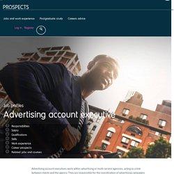 Advertising account executive job profile