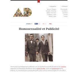 Homosexualité et Publicité