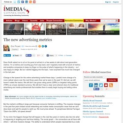 The new advertising metrics