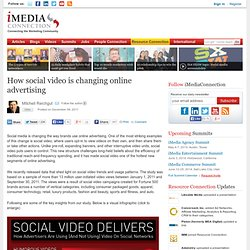 How social video is changing online advertising
