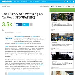 The History of Advertising on Twitter [INFOGRAPHIC]
