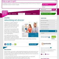 Advertising art director job information
