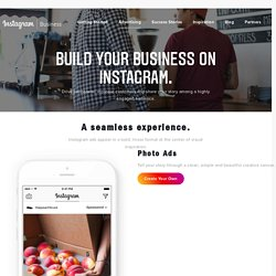 Advertising - Instagram for Business