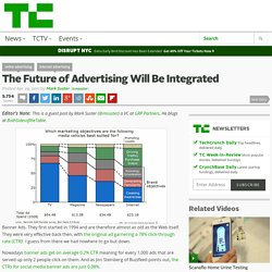 The Future of Advertising Will Be Integrated