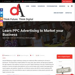 Learn PPC Advertising to Market your Business