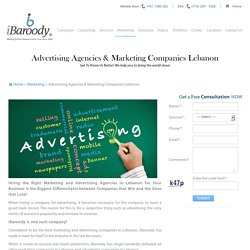 iBaroody LLC : Top Class Advertising and Marketing Agency in Lebanon