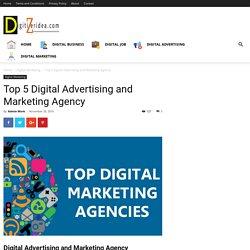 Top 5 Digital Advertising and Marketing Agency - Digitizer Idea