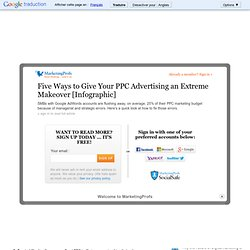 Advertising - Five Ways to Give Your PPC Advertising an Extreme Makeover [Infographic]