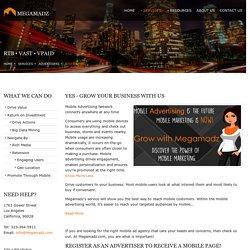 Mobile Advertising Platform - Megamadz