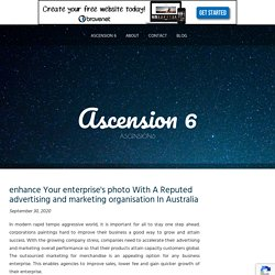 enhance Your enterprise's photo With A Reputed advertising and marketing organisation In Australia
