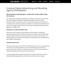 Creative Digital Advertising and Branding Agency Philadelphia