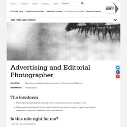 Advertising and Editorial Photographer