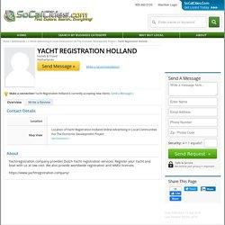 Yacht Registration Holland
