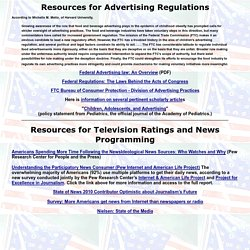 Resources for Advertising Regulations