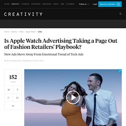 Do the new Apple watch ads feel Gap-y to you?