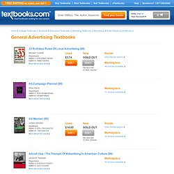 Top Selling General Advertising Textbooks | Find your Top Selling General Advertising Textbook - Textbooks.com