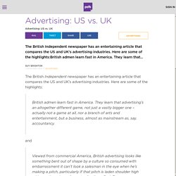 Advertising: US vs. UK