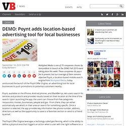 DEMO: Poynt adds location-based advertising tool for local businesses
