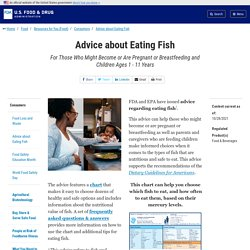 Advice about Eating Fish