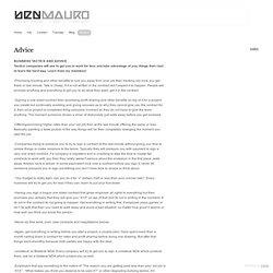 Advice - www.artofben.com