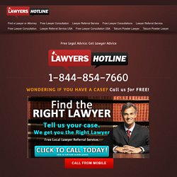 Free Legal Advice & Lawyer Consultation
