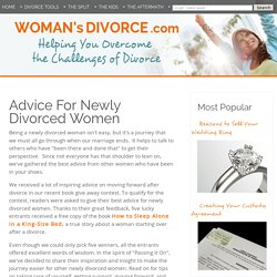 Advice For Newly Divorced Women