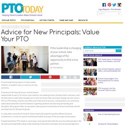 Advice for New Principals: Value Your PTO - PTO Today