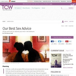 Our Best Sex Advice