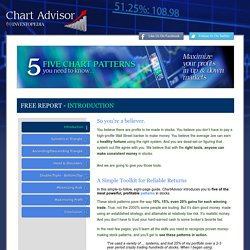 Chart Advisor Free Report 5 Patterns You Should Know