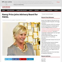 Nancy Price Joins Advisory Board for FWCEL