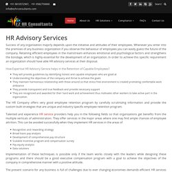 HR (Human Resource) Advisory Services